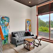 唯美沙发背景墙设计