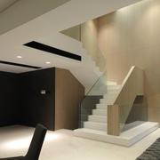 室内楼梯灯光设计