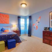 卧室吸顶灯光设计