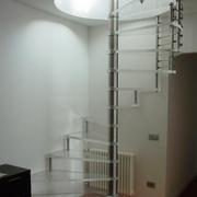 现代楼梯室内灯光设计
