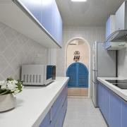 欧式厨房整体布局