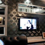 精美的电视背景墙