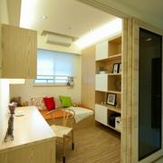 舒适都市书房吊顶造型