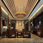 豪华大方的中式客厅