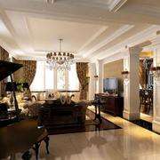 精美设计美式客厅