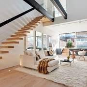 经典客厅楼梯设计