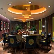 美式餐厅装修效果图