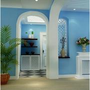 经典蓝色客厅
