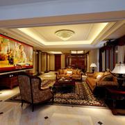 轻松的欧式客厅