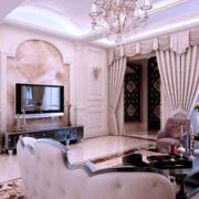 都市粉色客厅设计
