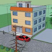 农村自建房设计模板
