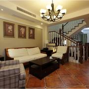 精致的美式客厅装修