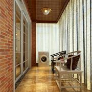 阳台背景墙设计