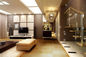 欧式大户型客厅室内设计