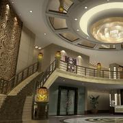 豪华别墅大厅设计