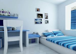 颇有情调的小卧室装修效果图