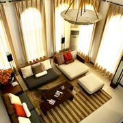 绚丽多彩的客厅