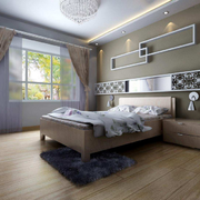 温馨卧室背景墙效果图