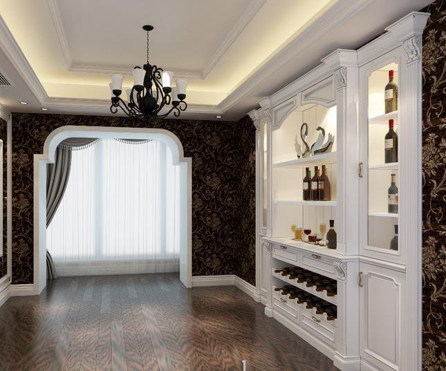 高品质 家庭 生活 酒柜 墙 装修效果图 齐装网 装修效果图