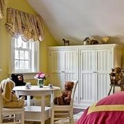 小阁楼卧室窗帘