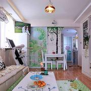 小户型自然房屋客厅
