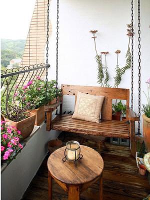 使人心驰神往的露台花园设计装修效果图