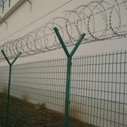 高大的围墙展示