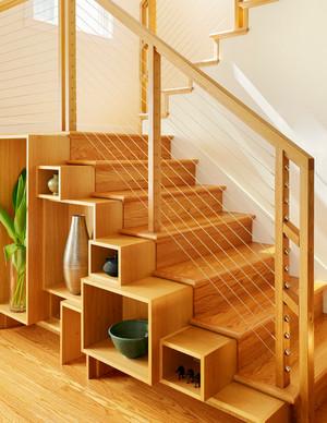 2015豪华别墅型楼梯装修效果图