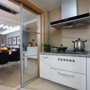 欧式厨房隔断装修效果图