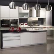 精致厨房白色橱柜
