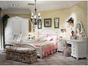 简欧式田园风格卧室