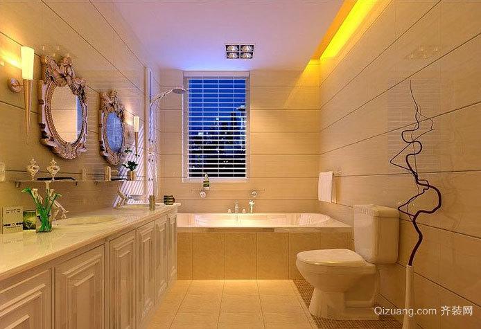 2015超级豪华大户型马可波罗瓷砖卫生间装修效果图