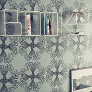 高档书房背景墙装修效果图