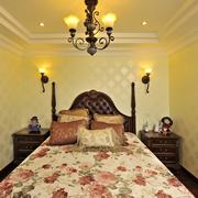 精致现代美式卧室