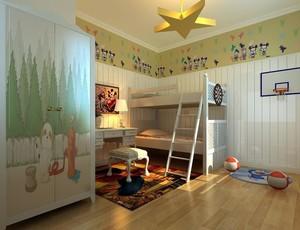 三室两厅两卫温馨儿童房装修设计效果图