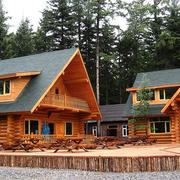 舒适温馨的木屋