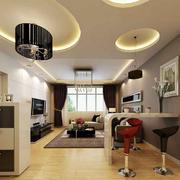 浅淡色客厅设计
