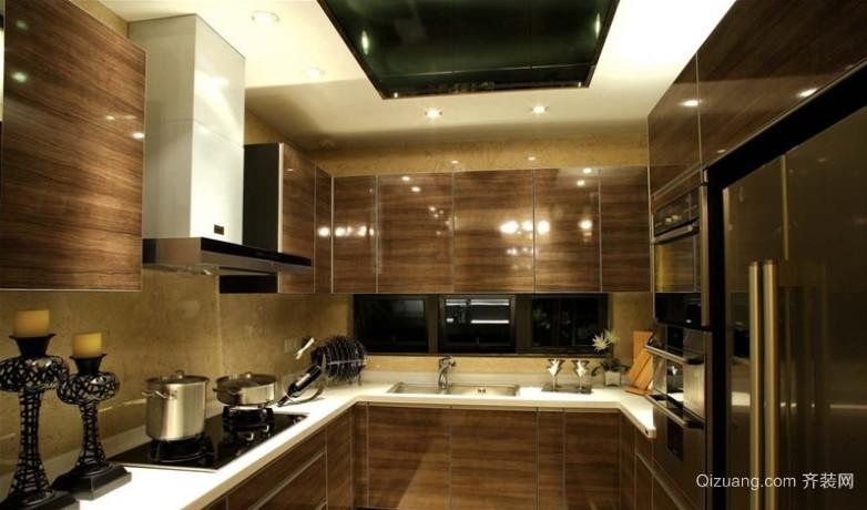 50平米后现代风格厨房装修效果图
