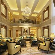 金色大客厅吊顶