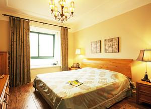 温馨暖色调卧室展示