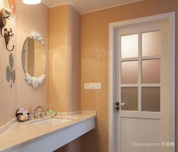 令人惊叹的橙色卫生间设计装修效果图鉴赏