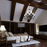 美式风格的阁楼