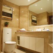 卫生间防水置物柜欣赏