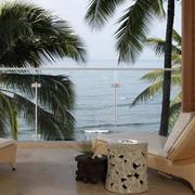 沙滩别墅阳台展示