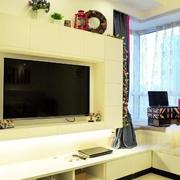 舒适电视背景墙装修效果图