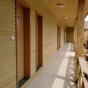 木屋走廊展示