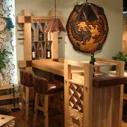 美式复古的吧台