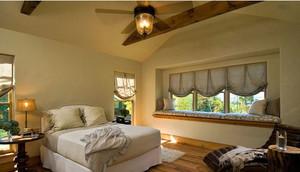 卧室美式大飘窗设计