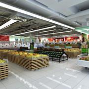 水果大型超市展示