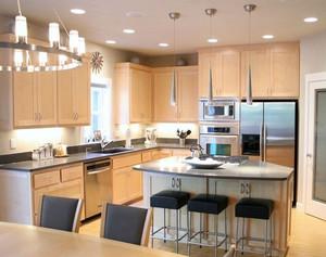 开放式厨房橱柜欣赏
